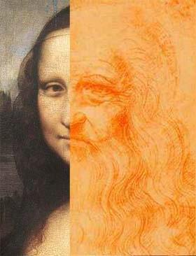 Rabbit's Moon studio: MONA LISA CONTROVERSY Da Vinci Paintings Secrets