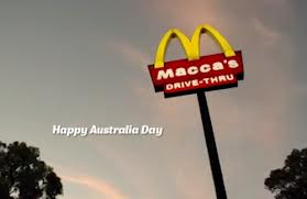 Changing name but only for the duration of Australia Day