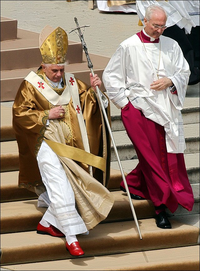 Soon to be Pope Emeritus Benedict XVI