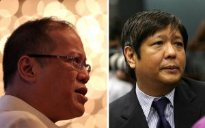 Familiar names and figures: Aquino and Marcos