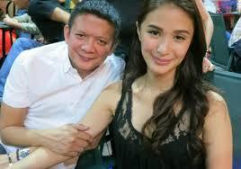 Sen. Chiz Escudero with fiancée actress Heart Evangelista