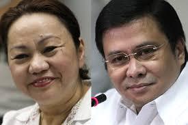 Janet Lim-Napoles and Sen. Jinggoy Estrada
