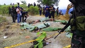 The infamous Maguindanao massacre.