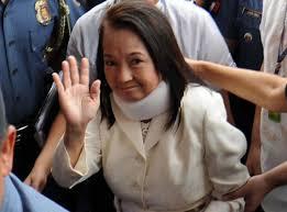 Former president and now Pampanga Rep. Gloria Macapagal-Arroyo
