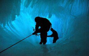 ice mining