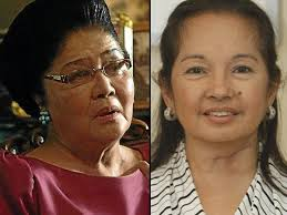 Ilocos Rep. Imelda Marcos and Pampanga Rep. Gloria Macapagal Arroyo