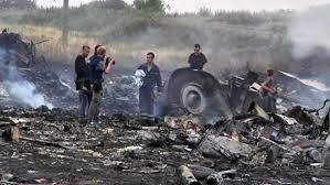 Wreckage of MH17