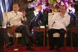 WB president Jim Yong Kim and Pres. Benigno Aquino.