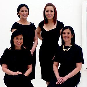 PNoy's sisters: Pinky, Ballsy, Kris, Viel