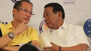 PNoy and Vice President Jejomar Binay