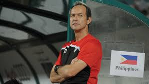 Philippine Azkals head coach Thomas Dooley