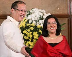 President Aquino with CJ Maria Lourdes Sereno