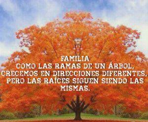 1. la familia como ramas de un arbol