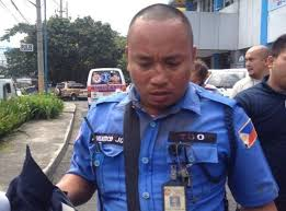 Bleeding MMDA traffic enforcer, Jorbe Adriatico.