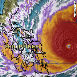 The Philippines prepares a Typoon Ruby is in striking distance.