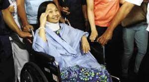 Former President and now Pampanga Rep. Gloria Macapagal Arroyo.