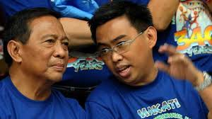 The Binays: Vice President Jejomar Binay and Makati Mayor Junjun Binay