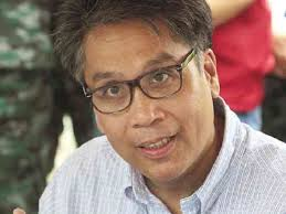 DILG Secretary Mar Roxas
