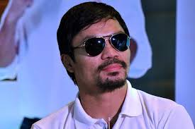 Boxing champ and Sarangani Rep. Manny Pacquiao