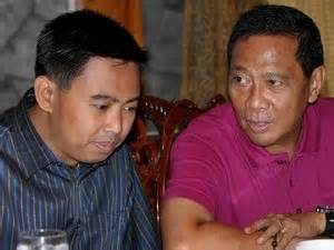 Makati Mayor Junjun Binay and Vice President Jejomar Binay