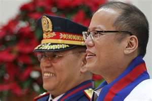 PNoy with friend and protege, ex-PNP chief Alan Purisima.