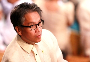 Interior and Local Government Secretary Mar Roxas