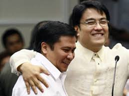 Detained Senators Jinggoy Estrada and Ramon Revilla