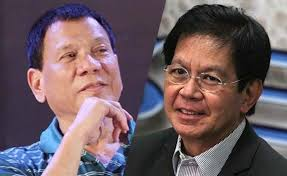 Davao City Mayor Rodrigo Duterte and former Sen. Panfilo Lacson