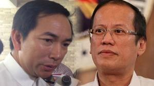 Energy Secretary Carlos Jericho Petilla and President Benigno Aquino
