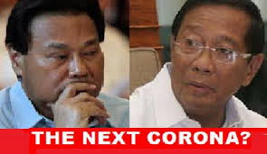Ousted SC Chief Justice Renato Corona and Vice President Jejomar Binay