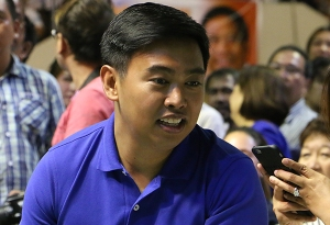 Former Makati City Mayor Junjun Binay