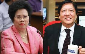 "Senators Miriam Defensor Santiago and Ferdinand ""Bongbong"" Marcos Jr"
