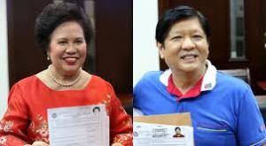 Senators Miriam Defensor Santiago and Ferdinand Marcos Jr.