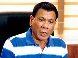 Davao City Mayor and presidential candidate Rodrigo Duterte