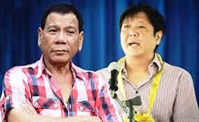 Davao City Mayor Rodrigo Duterte and Sen. Ferdinand Marcos Jr.
