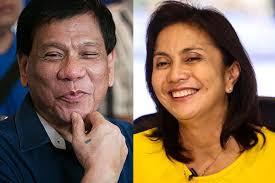 Duterte ad Robredo