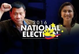 President-elect Rodrigo Duterte and Vice President-elect Leni Robredo