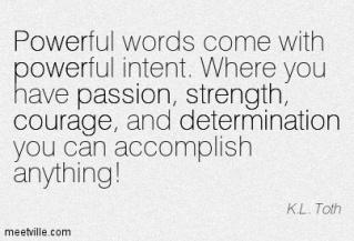 6. powerful words