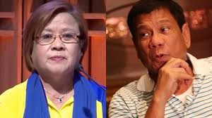 Archenemies de Lima and Duterte