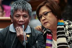 Edgar Matobato and Sen. Leila de Lima