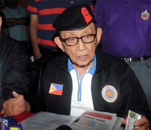 Former Pres. Fidel Ramos