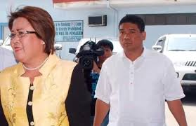 Sen. Leila de Lima and Ronnie Dayan