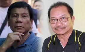 President Rodrigo Duterte and Agriculture Secretary Manny Piñol.